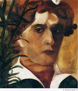 Autoportrait Marc Chagall (1914)
