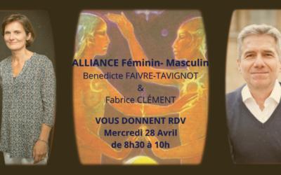 Replay du 5ème webinaire sur l'Alliance Féminin -Masculin, le 28 avril 2021